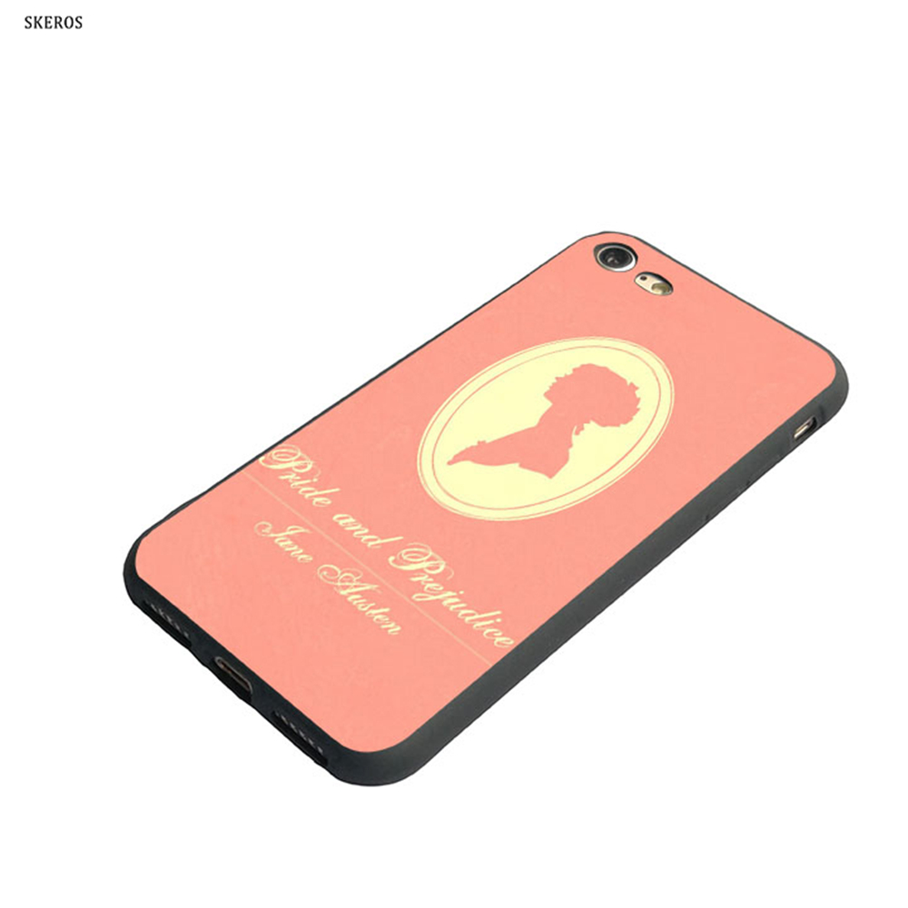 SKEROS PRIDE AND PREJUDICE BOOK QUOTES Fashion Phone For Apple Iphone X 5 5S Se 6 6S 7 8 ...