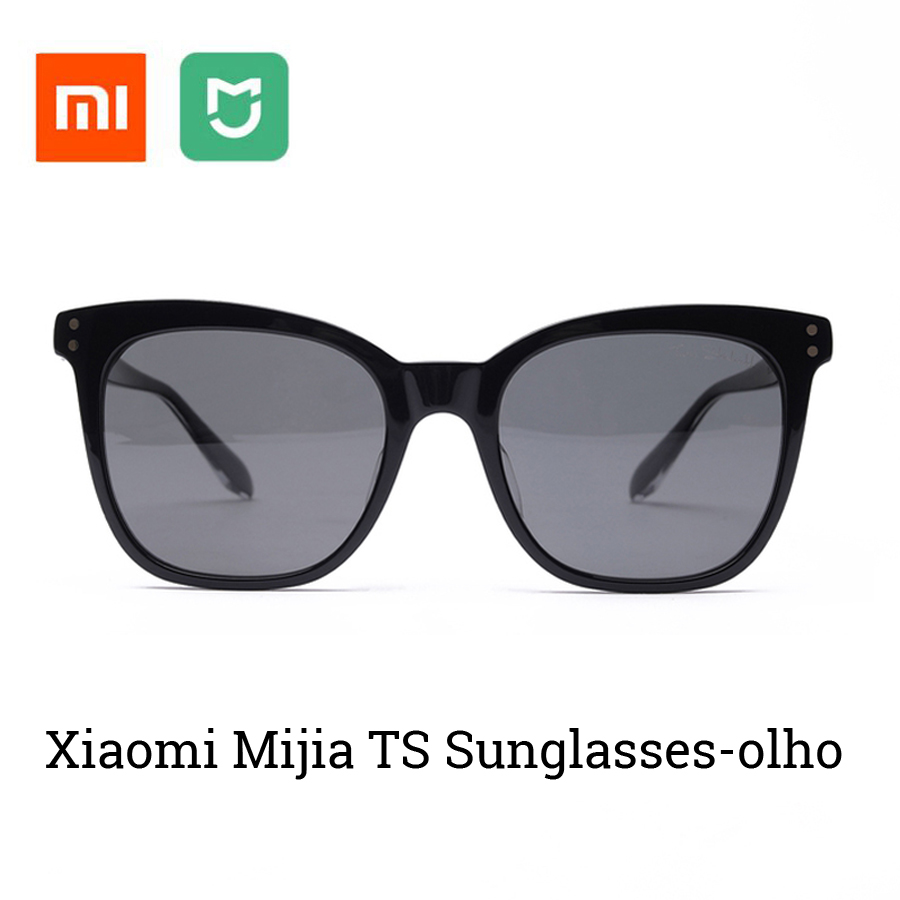 Original Xiaomi Mijia TS Sunglasses Cat eye Version Nylon Polarized Glasses 100 UV Proof Light For