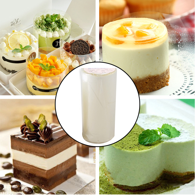 De Cuisson Ruban Rouleau De Gâteau Mousse Environnante Transparent  Edge Wrap