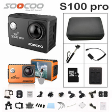 SOOCOO S100PRO Action Camera Ultra HD 4K Touch Screen WiFi GPS gyrometer Image Stabilization Go Waterproof pro Camera