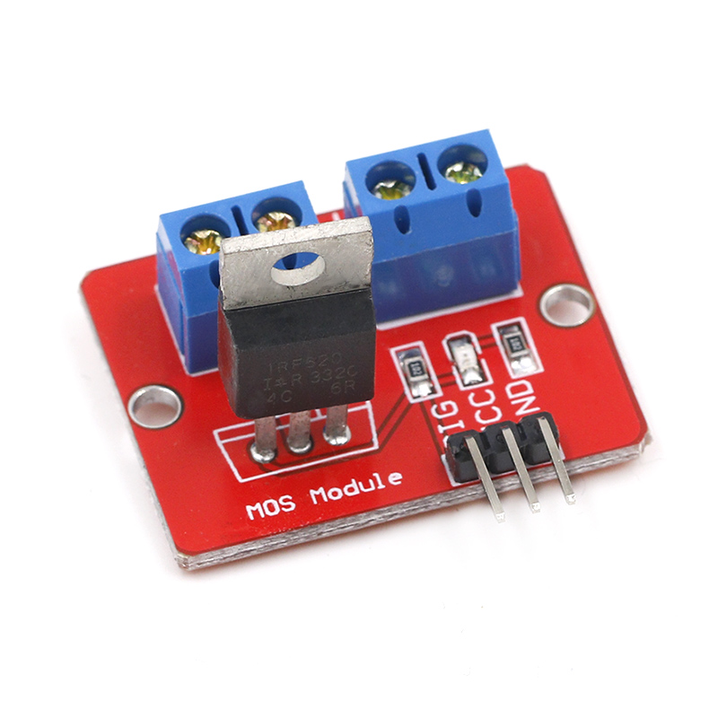 10PCS New MOSFET Button IRF520 MOSFET Driver Module for Raspberry pi Arduino