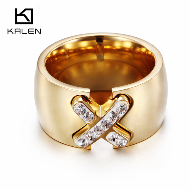 Excellent Beautiful Jewelry Arabic Gold Color Casting Rings Kalen New Design  DS57