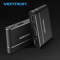 Vention USB To HDMI VGA Audio Video Converter 3 In 1 USB Digital AV Adapter For