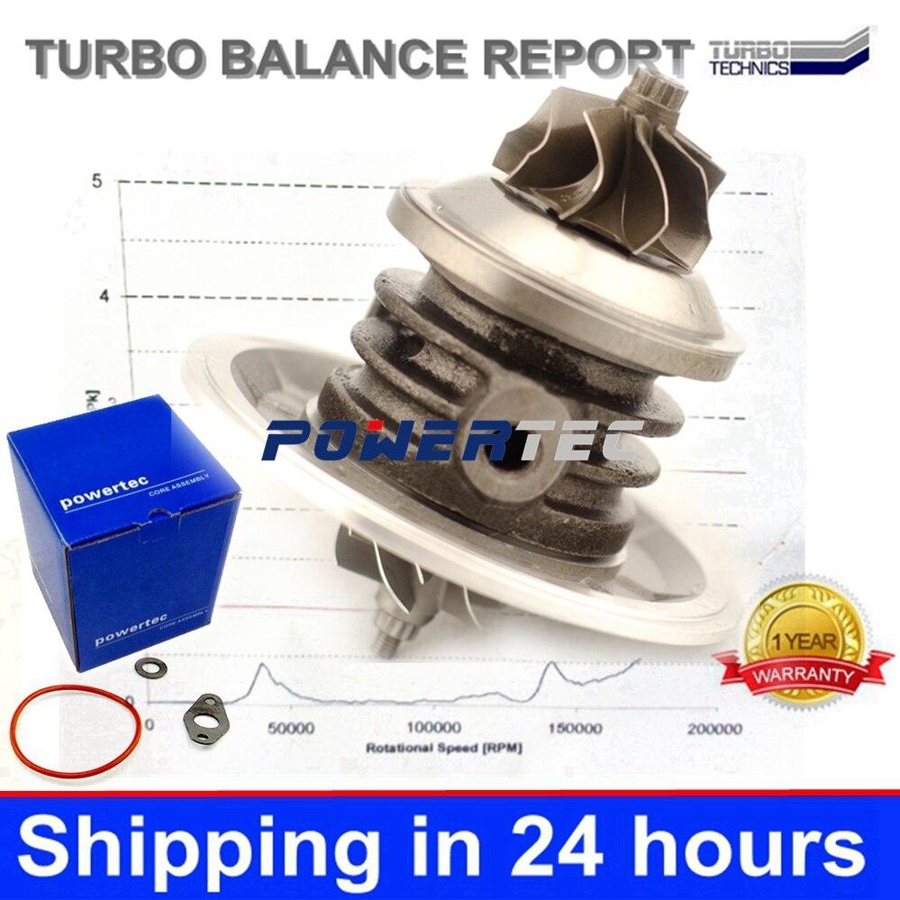 Garret CHRA GT1549S 703245 Turbo cartridge 751768 MW30620721 MW31216381 turbocharger core for Renault Megane I 1.9 dCi F9Q732