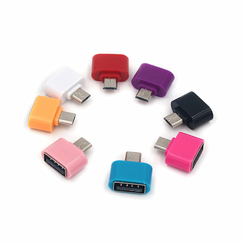 Mini OTG Adapters Mobile Phone Tablet Card Reader Micro USB Flash Mouse Keyboard Expansions