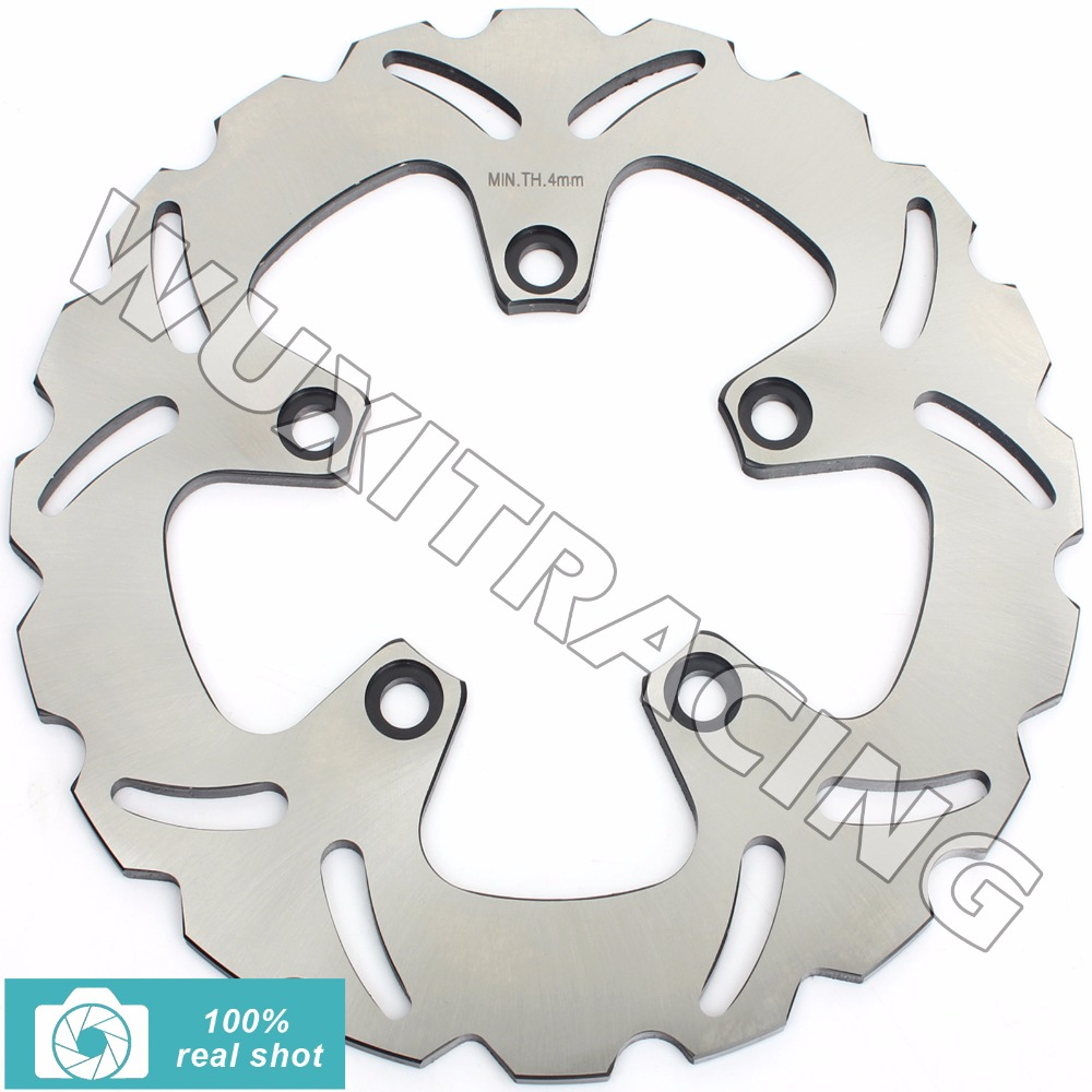 Rear Brake Disc Rotor for SUZUKI GSF 600 650 1200 BANDIT S 95-06 GSX 600 750 1200 F Katana R FS Inazuma 97-06 RF 600 900 R RR 93  motorcycle front and rear brake pads for suzuki gsf600 s y k naked bandit s k faired bandit f katana sv650 gsx750 f katana