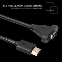 0.3M / 0.6M / 1.2M HDMI 4K 3D 1.4v Удлиненный кабель HDMI для HD TV ЖК-ноутбук PS3 Проектор