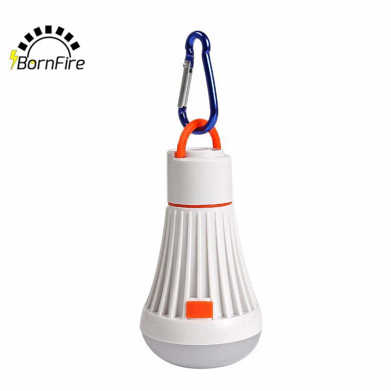 NEW Soft Light Outdoor Hanging LED Camping Tent Light Bulb Fishing Lantern Lamp Rechargeable Camping Light