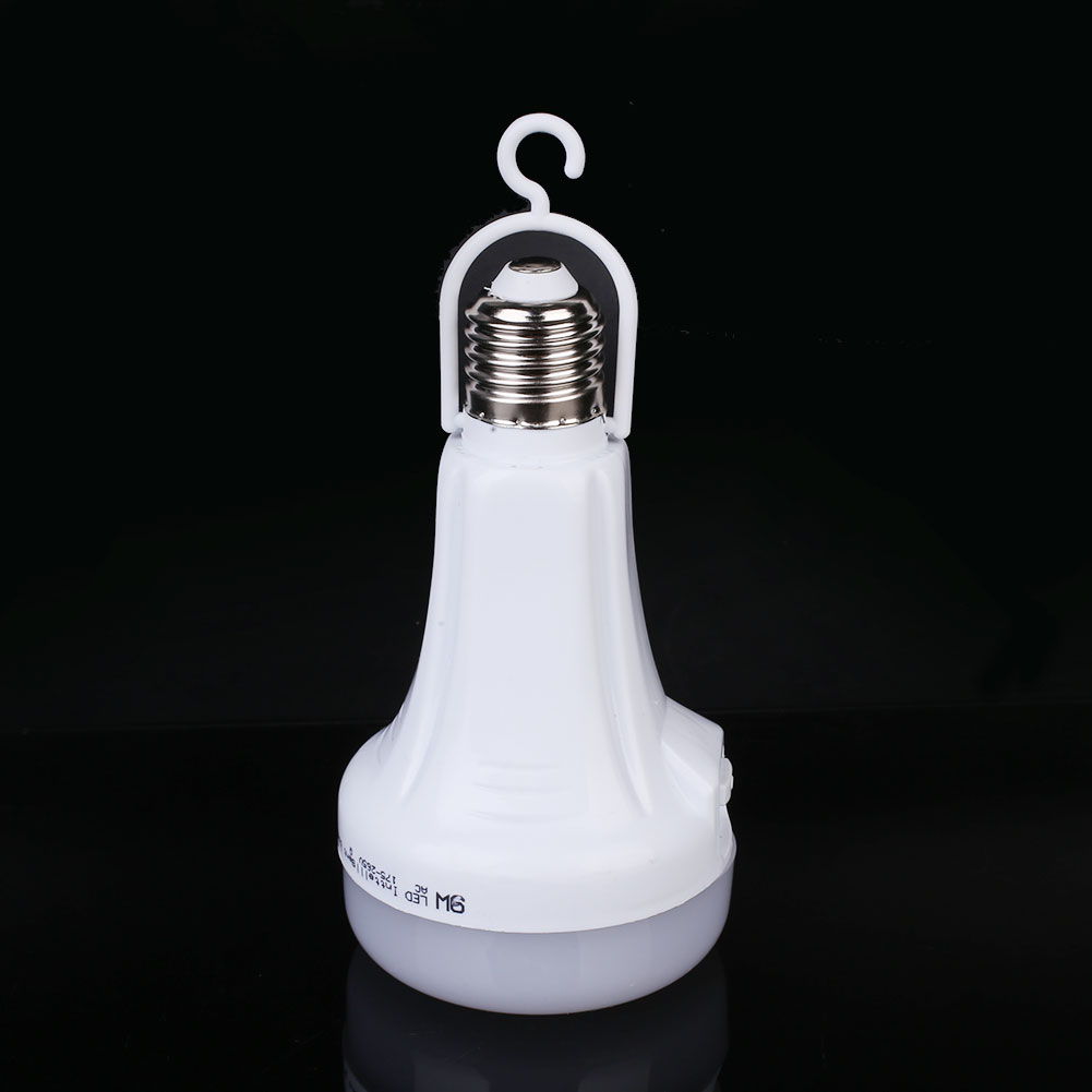 Durable Bright LED Bulb Emergency Light 14*7.5cm E27 White Indoor Outdoor Flashlight Room Lighting Lighting Fixture Eco-Friendly
