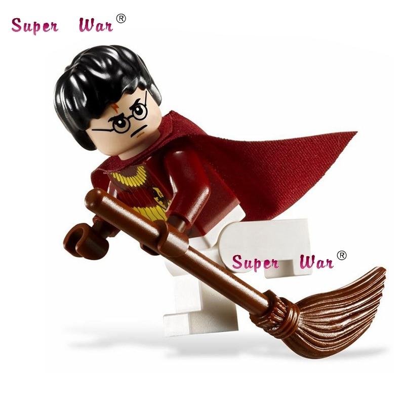 20pcs star wars superhero marvel Harry Potter Classic movie building blocks action figure bricks model educational diy baby toys