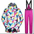2017 Hot Sale Ski suit Women's warm ski clothing Free Shipping