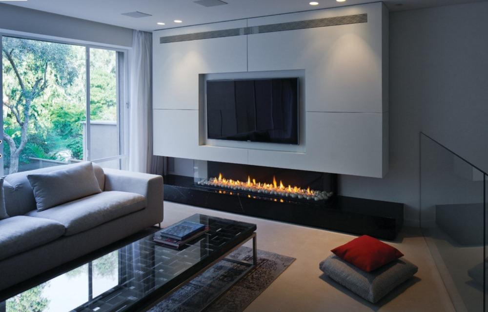 On Sale 48 Inch Built-in Remote Control Electric Fireplace Bioethanol