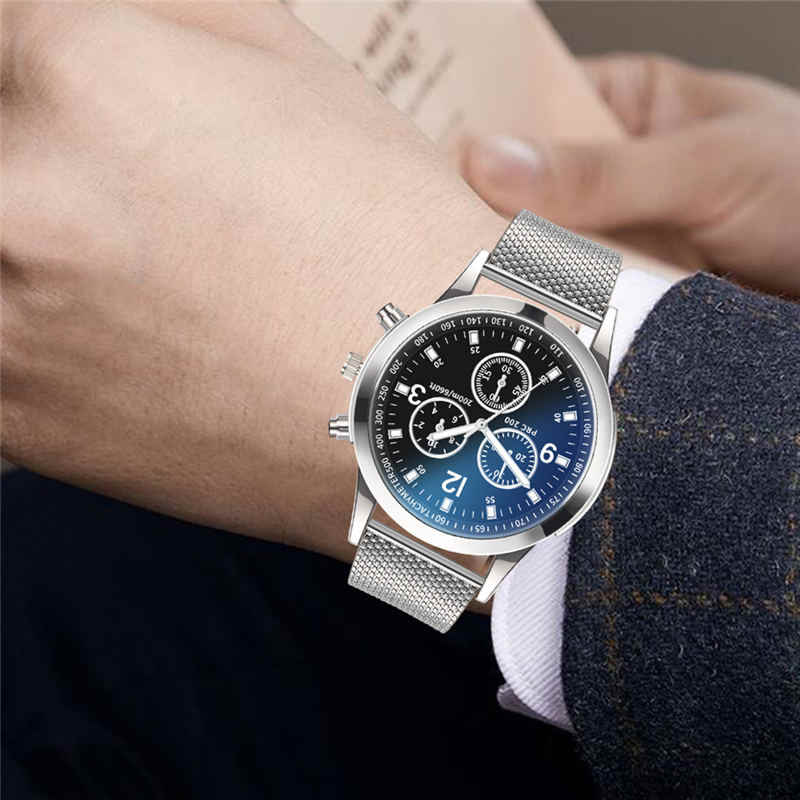 2019 Luxury Watches Quartz Watch Stainless Steel Dial Casual Bracele Watch 266M