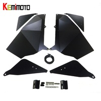 Kemimoto utv нижней двери Панель Подставки для Polaris RZR 900 XC rzr S 900 rzr S 1000 2015 2016 2017