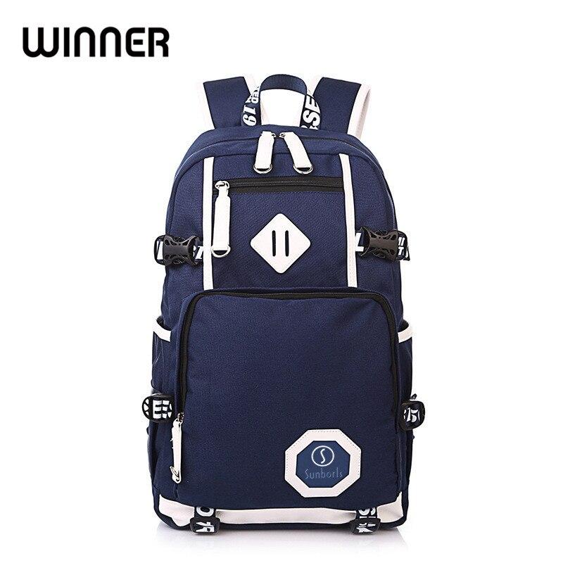 Unisex Backpack School Bag For Teenager Girls Boy Laptop Back Pack Travel Canvas Backpacks Rucksack