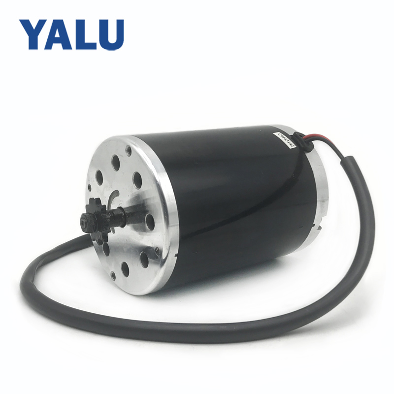 YALU MY1020 500W 1000W High Speed E Scooter toy car motor UNITEMOTOR Ebike Electric Bicycle DC Motor without foot