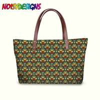 Luxury Handbags Women Bags Designer Mexican Folk Angels Pattern Large Capacity Messenger Bags for Female Tote Bags dropshipping