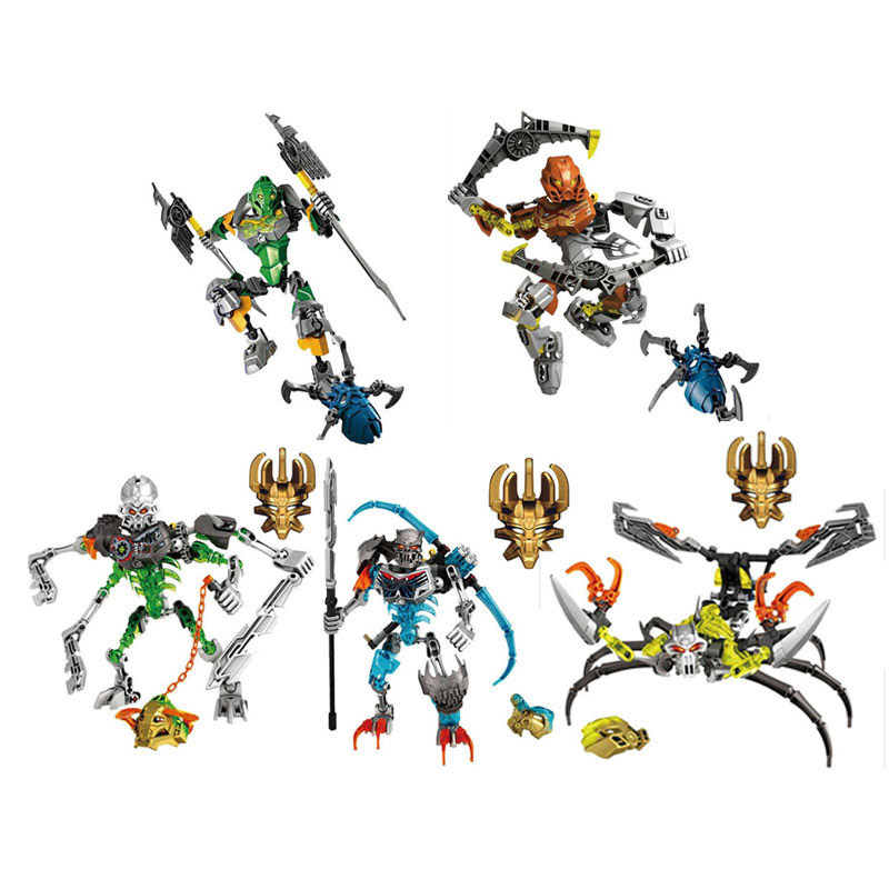 New arrivals XSZ 707/710 Series Bionicle CALI Master of water XSZ Building Block Bricks Toys Sets BABY Toys Figures Model a toy a dream new bionicle mask of light xsz 708 serieschildren s kopaka monster of ice bionicle building block toys
