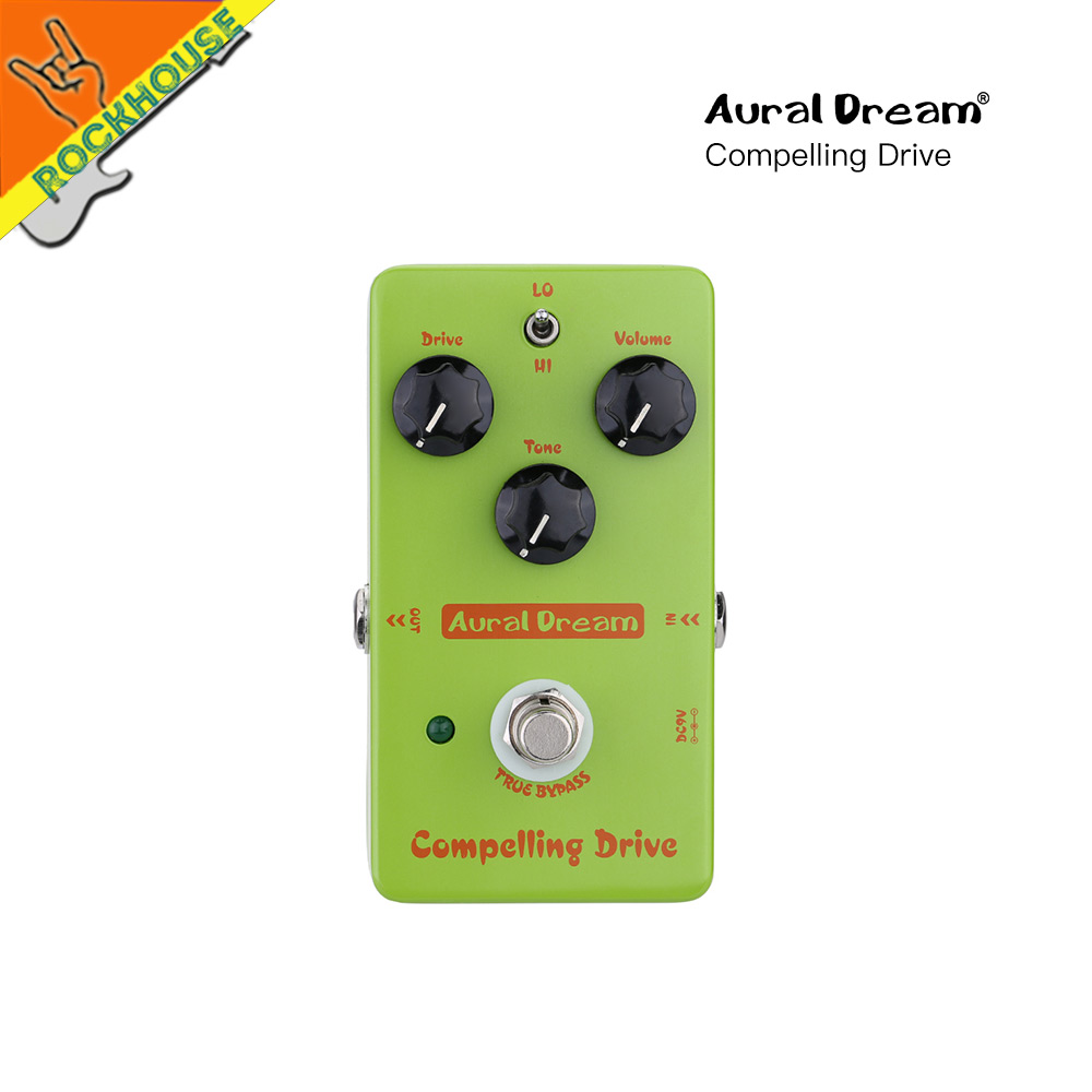 Aural Dream Blues Overdrive Guitar Effects Pedal Analog Overdrive Guitar Pedal Drive Booster High-Gain True Bypass Free Shipping new pegasus overdrive pedal guitar effects pedal high power drive booster tube overload stompbox true bypass free shipping