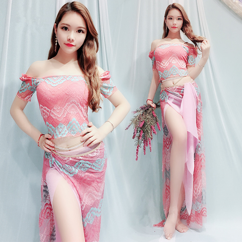 Bellydance Oriental Belly Indian Eastern Baladi Saidi Swing Robe Dance Dancing Costumes Clothes Bra Belt Skirt Dress Wear 4410 Providing Amenities For The People; Making Life Easier For The Population Stage & Dance Wear