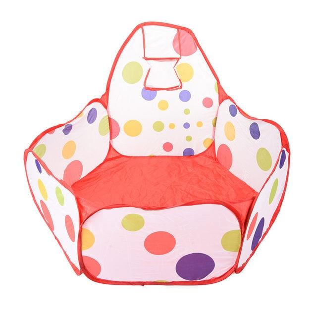 New Kids Play Tent Ball pit piscina con Baloncesto aro rojo con cremallera  bolsa de almacenamiento con cremallera para niños pequeños bebé mascotas  parque ... 2fe8cd3fb63