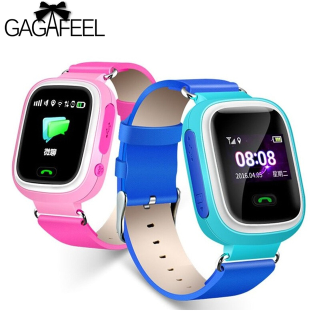 Gagafeel Q90 GPS Phone Positioning Fashion Children Smart Watch 1.22 Inch Color
