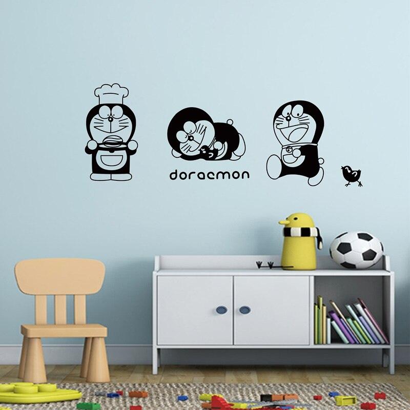Diyws Vinyl Sticker Japanese Kawaii Cartoon Character Doraemon Cat