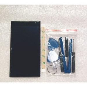 Image 2 - Utilisé pour BlackBerry Priv 5.4 pouces écran LCD avec cadre + écran tactile Digitzer assemblage réparation panneau verre accessoires