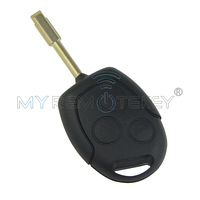 98AG15K601AD Remote Key For Ford Focus Cougar ID60 433Mhz FO21 3 Button