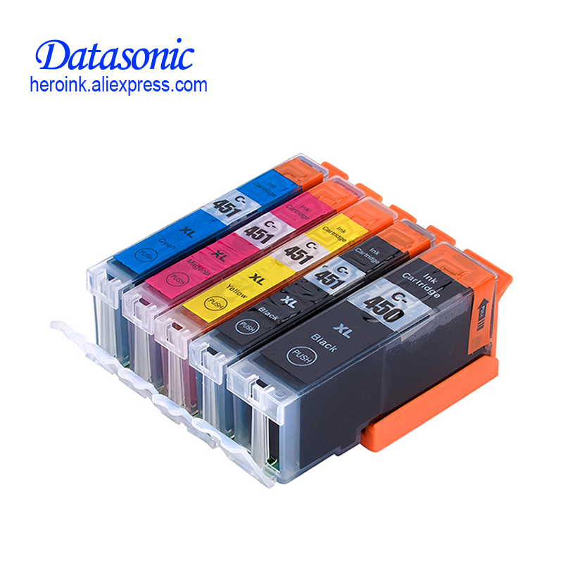 DAT For Canon 450 451 PGI-450 CLI-451 Compatible Ink Cartridge For Canon PIXMA MG5440 MG5540 MG6340 MG6440 MG7140 Ip7240 MX924 картридж canon pgi 450 pgbk xl для pixma ip7240 mg6340 mg5440
