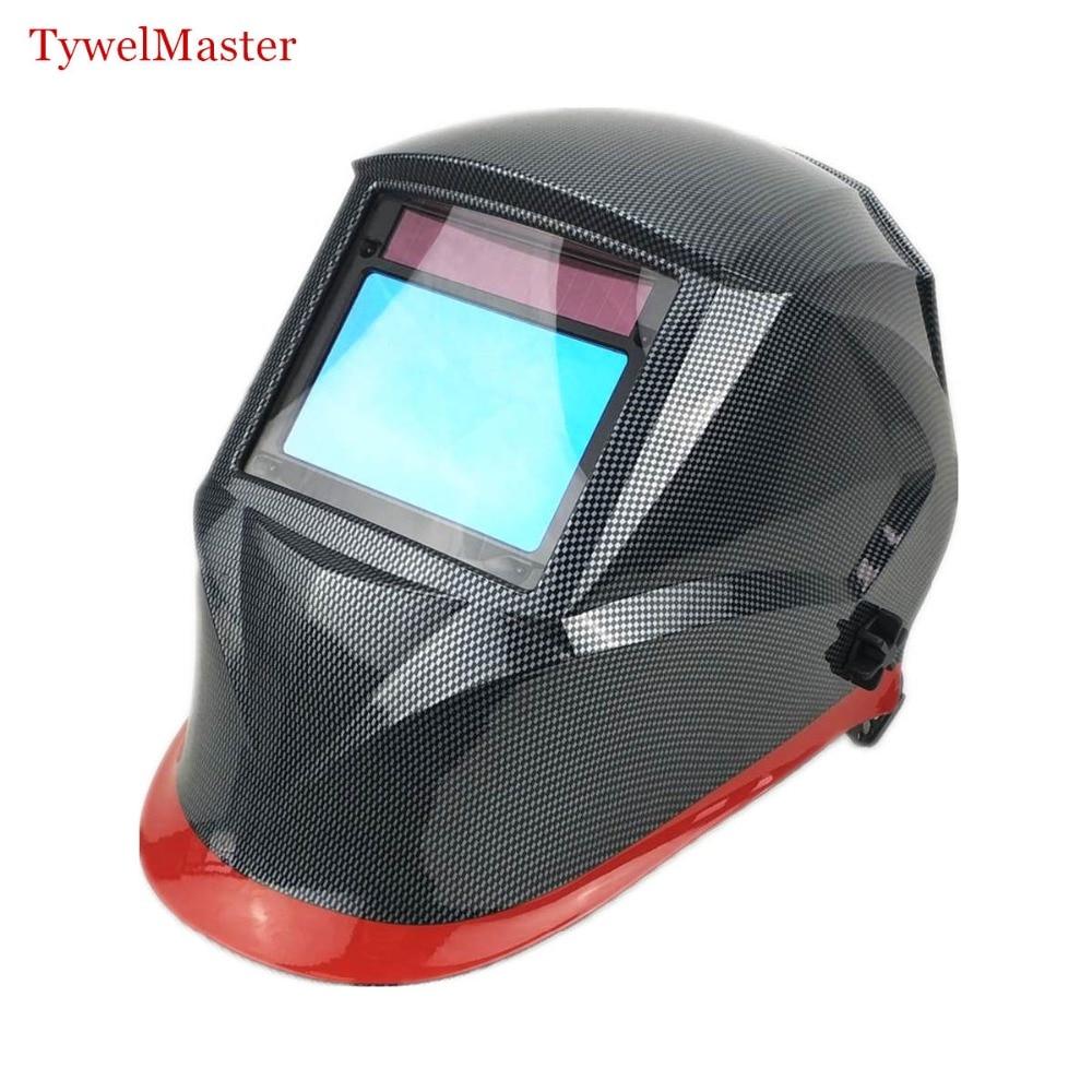 Capacete de soldagem 3 Óptico Top Classe 1111 Sombra Total-Área de Visualização 100x65 13mm Máscara de Solda
