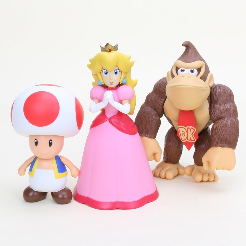 Super Mario Bros Action Figures 15cm 15