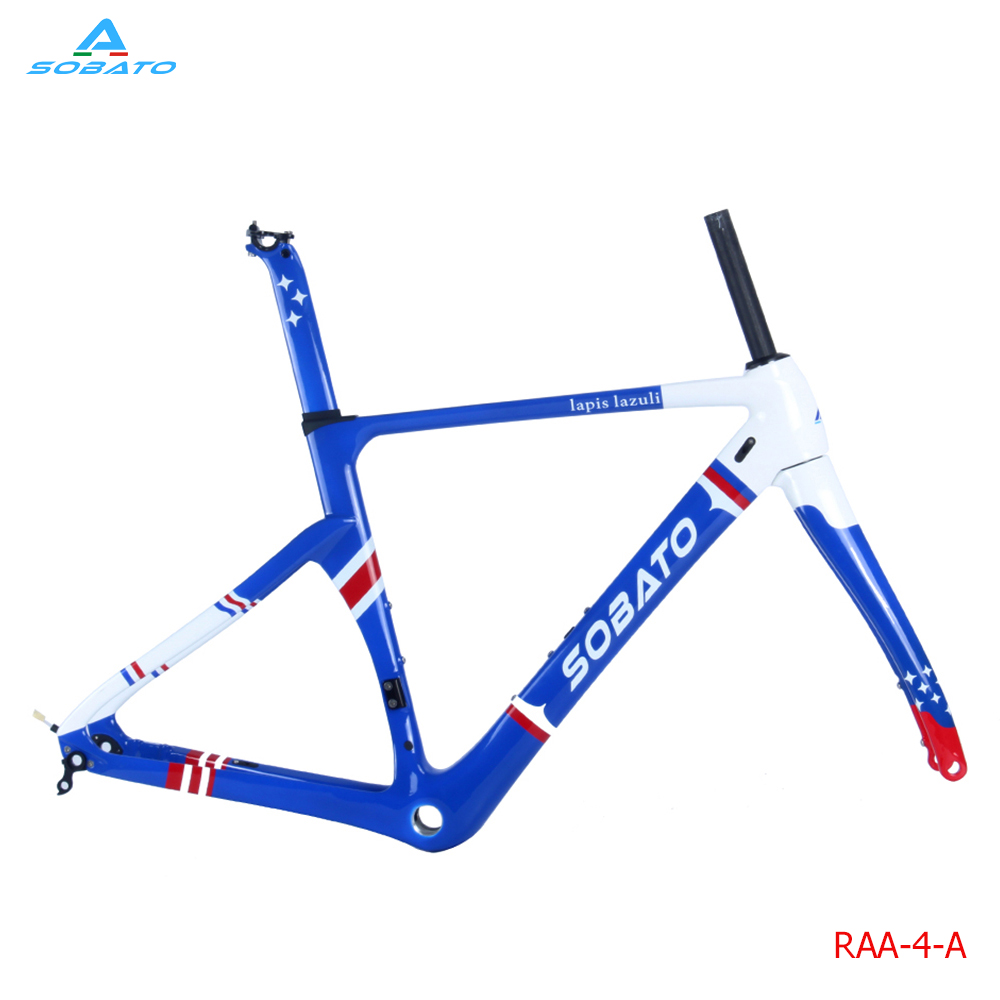 free shipping 2016 newest DI2 carbon road frame AERO design road carbon Disc frameset smileteam t800 aero carbon road bike frame di2