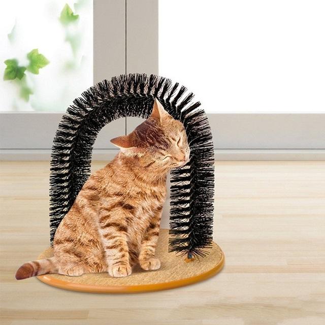 Amazing Self Massaging Cat Arch