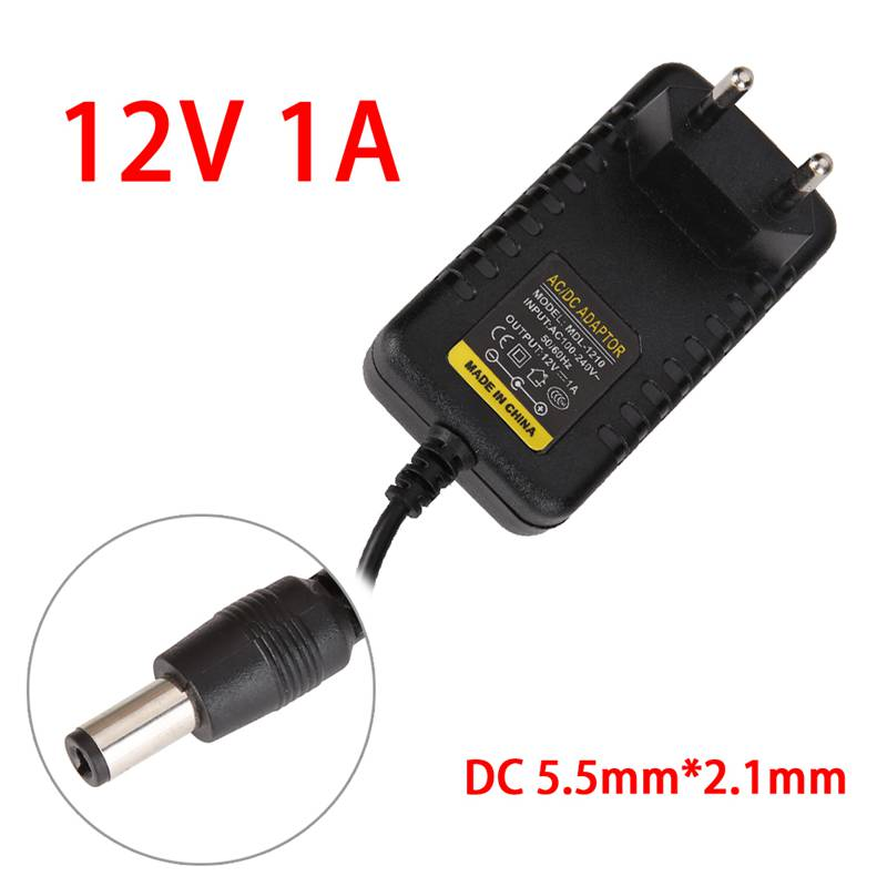 12V 2A Switching Power Supply Adapter AC To DC 4.0mmx1.7mm With EU Plug