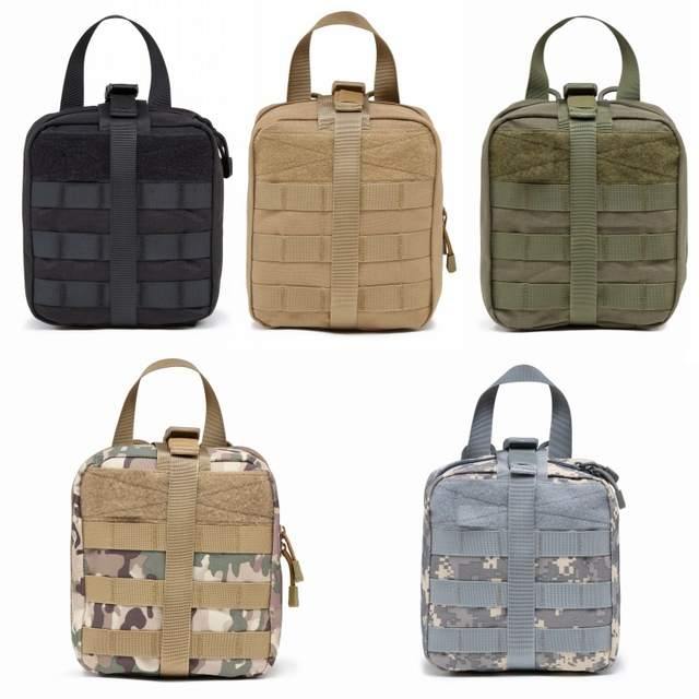 Outdoor Military Emergency Medical Bag Molle Pouch Utility