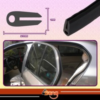 60 61 62 63 64 Rubber Edge Trim Seal Noise Muffler Anti Noise Insulation Rear