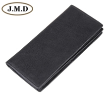 8053A J.M.D Fashion Brown Genuine Leather Men's Wallet  Clutch Bag brown leather look solid color clutch bag