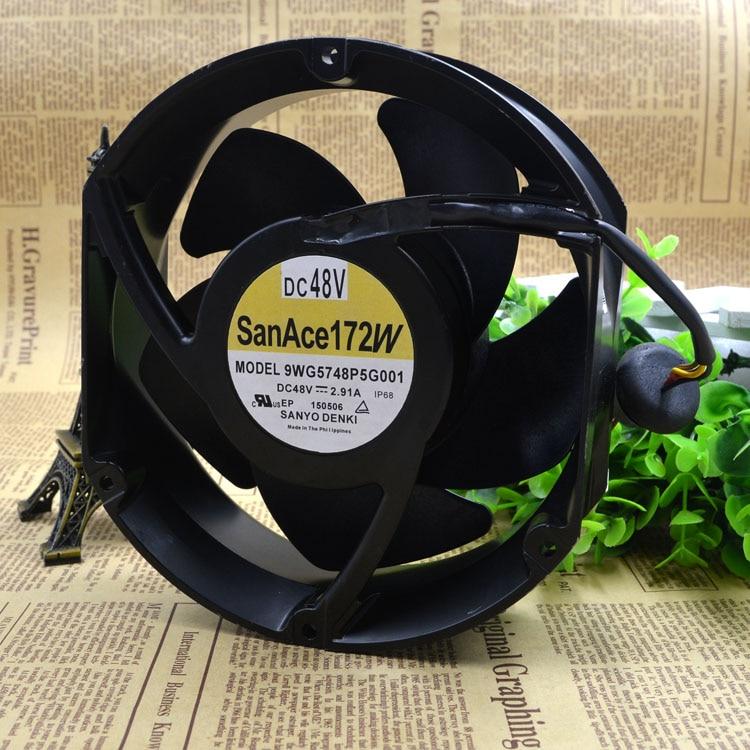 Free Delivery. 172 w 9 wg5748p5g001 48 v 2.91 A 170 * 150 mm fan