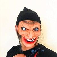 1 pcs Cobertura de Rancores Fantasma Zumbi Bruxa de Halloween Horror Máscara de Halloween Adereços Máscara Máscara de Silicone Realista Máscaras Masquerade Bola