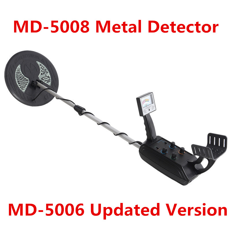 MD-5008 Metal Detector Professional Underground Gold Detector MD5008 Treasure Hunter With Two Coils промышленный детектор металла hot selling md 5008 gold finder