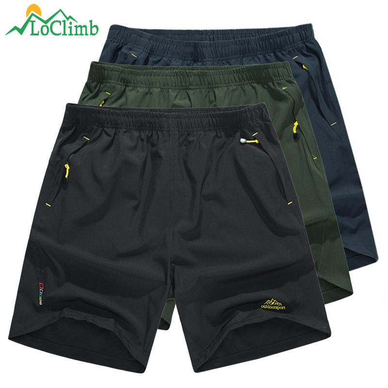LoClimb 8XL Camping/Hiking Shorts Men Outdoor Mountain Climbing Trekking Shorts Men's Sports Shorts For Running/Cycling AM214