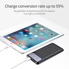Baseus Quick Charge 3.0 Power Bank 10000mAh Dual USB LCD Powerbank Universal External Battery For iPhone X 8 7 Portable Charger