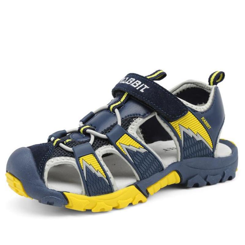 Kinderen strand sandalen Schoenen voor jongens Kinderen gesloten teen - Kinderschoenen - Foto 3