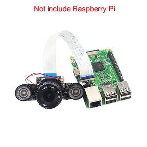 Image 2 - ラズベリーパイ 4 IR CUT カメラ 4 ミリメートル 6 ミリメートル 8 ミリメートル調節可能な焦点ナイトビジョンカメラウェブカメラ + 2 IR ライトラズベリーパイ 4B/3B +/3B