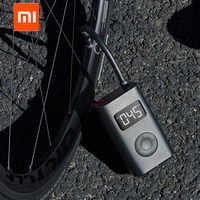 Xiaomi Mijia Portable Smart Digital Tire Pressure Detection Electric Inflator Pump for Bike Motorcycle Car Football , In stock