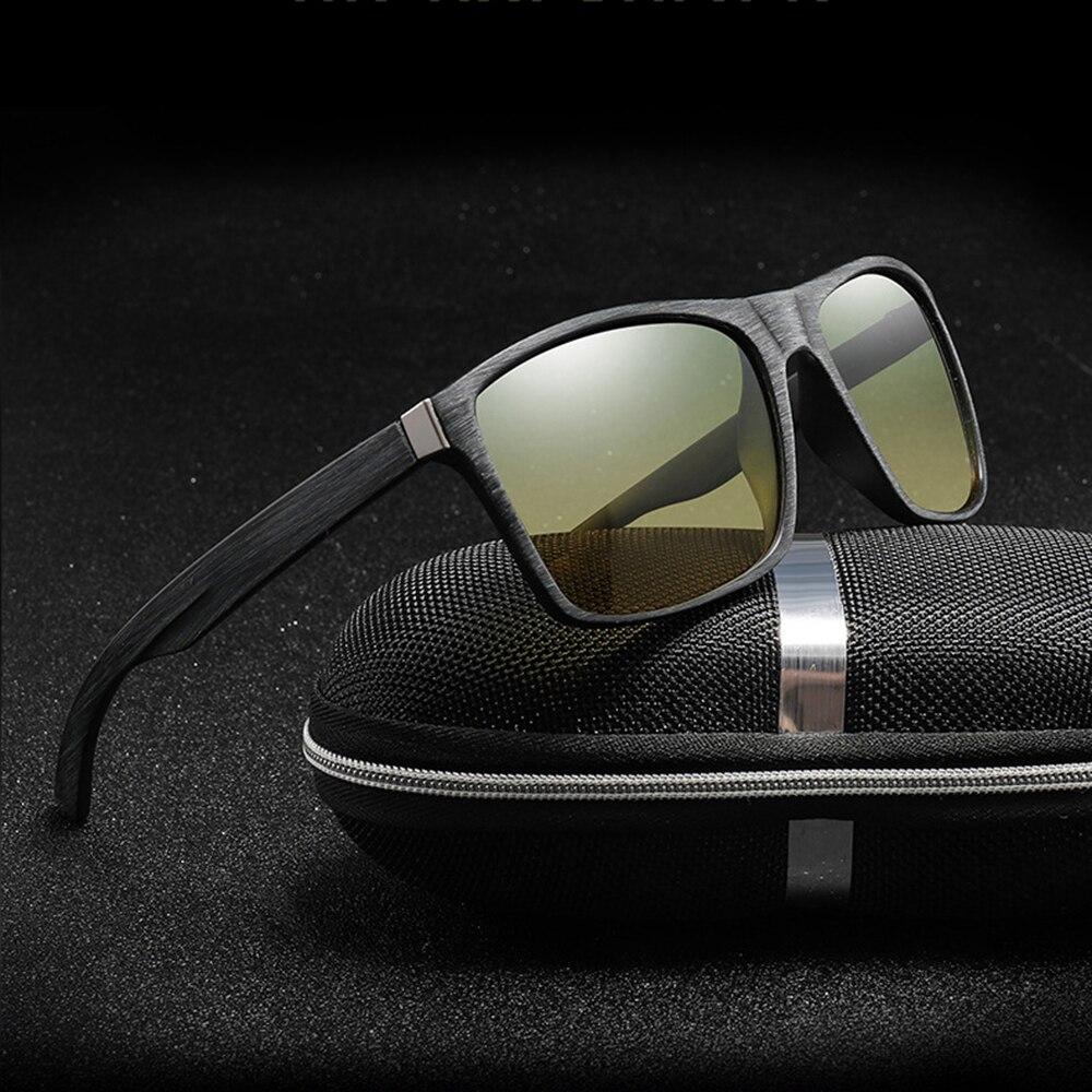 Купить с кэшбэком 2019 New Cycling Driving Goggles Drivers Night-vision Sunglasses Anti-shock Sports Sunglasses UV400 Glasses
