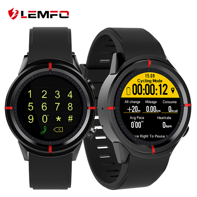 LEMFO GW12 Smart Watch MTK2503 Smartwatch Heart Rate Monitor Watch Phone Sport Smartwatch GPS for IOS