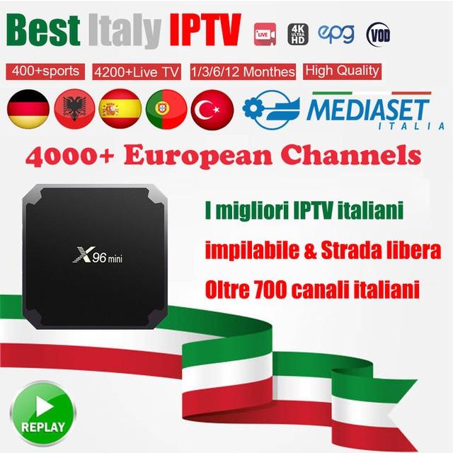 GOTIT Super Italy IPTV subscription 6000+ Portugal UK Germany Turkish Spain Albania PayTV For MAG250 MI Android Smart TV Box M3U
