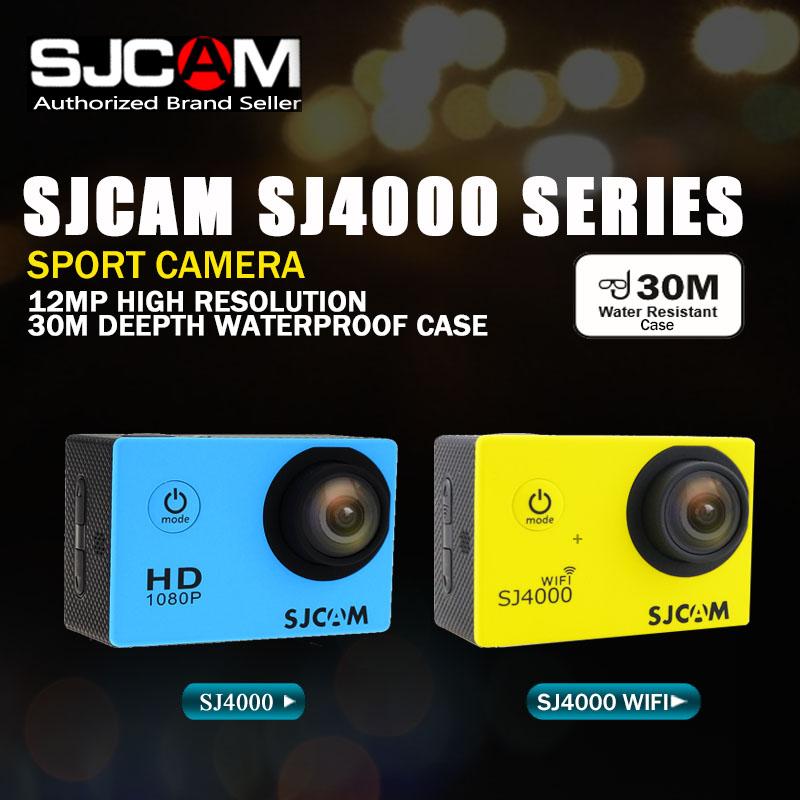Prix pour Sjcam sj4000 série sj4000 & sj4000 wifi action caméra étanche caméra 1080 p hd sport dv